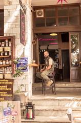 Volos Greece Street Bar (Johnson Keith) Tags: street june bar greece 2015 volos queenvictoriacruise