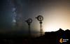VIENTOS ESTELARES (David Ros Photography) Tags: españa lightpainting beach spain fireworks playa flashlight cartagena fuegosartificiales milkyway steelwool linterna calblanque vialactea molines canon6d lanadeacero