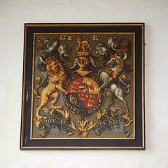 P72022722 (simonrwilkinson) Tags: church northamptonshire royalarms fotheringhay stmaryandallsaints