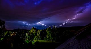Blitze über der Oberlausitz (explore)