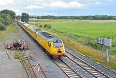 43013 at Lea Marston (robmcrorie) Tags: test train lea derby warwickshire nmt marston rtc hst falkland 43014 43013