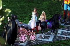 Paprihaven 0789 (MayorPaprika) Tags: horse castle set toy dc carriage princess barbie prince story diana wonderwoman batman 16 erika custom snowwhite diorama direct brucewayne gaiking shogunwarrior canoneos50d anneliesse jumbomachineder