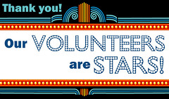 Our Volunteers are STARS!