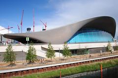The London Aquatics Centre - Stratford (Mark Wordy) Tags: london swimmingpool stratford olympicgames zarahadid queenelizabetholympicpark thelondonaquaticscentre