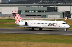 EI-EXJ (GH@BHD) Tags: aircraft aviation boeing 717 airliner b717 voe bhd belfastcityairport volotea eiexj