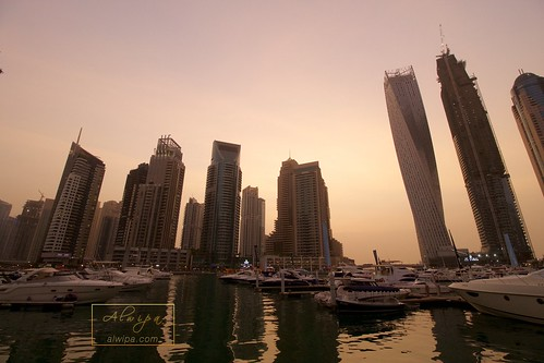 "Dubai Marina • <a style=""font-size:0.8em;"" href=""http://www.flickr.com/photos/104879414@N07/20231369545/"" target=""_blank"">View on Flickr</a>"