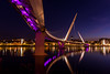Under The Bridge (peter_beagan) Tags: ngc canon 600d sigma derry peace bridge night reflections northern ireland
