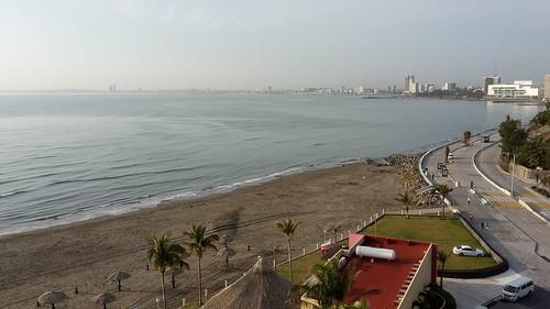 Sunrising at Boca del Río, Veracruz