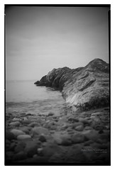 cleveleys_beach_conway_02 (D_M_J) Tags: cleveleys beach lancashire fylde coast north west uk england landscape seascape film camera medium format 120 roll 6x9 conway box ilford delta 100 pro rodinal r09 epson v850 black white bw blackandwhite mono monochrome