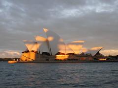 Sydney Opera House ar dusk!