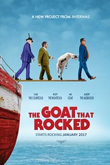 The goat that rocked (jinterwas) Tags: goat geit humor funny boat ship schip boot movieposter filmposter boatthatrocked cc free creativecommons photoshop photoshopped manipulated manipulation mii