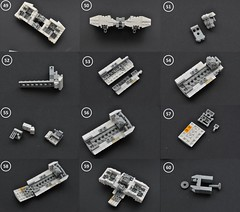 T-65 X-wing: V2 (instructions  Page 5) (Inthert) Tags: lego t65 fighter sfoils x wing starfighter moc ship star wars rebel rogue one squadron income red5 r2d2 luke skywalker instructions breakdown astromech blue
