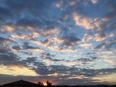 Couché de soleil (karine_avec_1_k) Tags: cloud nuage soleil sunset