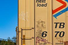 (o texano) Tags: houston texas graffiti trains freights bench benching monikers soak buschhog shitbuck
