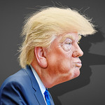 From flickr.com: Donald Trump- Caricature {MID-140973}