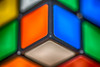 Rubik's Corner (HMM !) (ralfkai41) Tags: cube edges colours makro bokeh tiefenschärfe würfen ecke macromondays corner toy spielzeug farben rubik