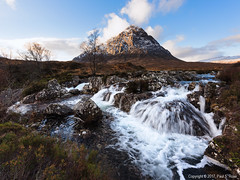 Beautiful Scotland (roseysnapper) Tags: buachaille etive mã²r coupall river lee filters nikkor 1424 f28 nikon d810 circular polarizer glencoe scotland beauty landscape mountain nature outdoor rugged waterfall winter