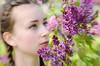 """Despite the forecast, live like it's spring."" ― Lilly Pulitzer (LornaTaylor) Tags: cailtin copyright2016lornataylor lornataylor lornataylorphotography taylorimagesca fairytale fantasty fantasyshoot flowers garden girl lensbaby lensbabysweet50 lilacs model sweet50"