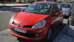 Renault Clio (Jusotil_1943) Tags: coche auto cars redcars