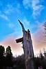 Unfulfilled ambition (Fr Paul Hackett) Tags: tree pollock stump sky cloud