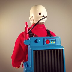 Porta-Communicator Receiver (WEBmikey) Tags: toys sixmilliondollarman smdm bigfoot kenner