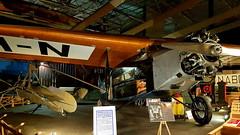 Fokker F.VII c/n 5054 KLM registration H-NADP (sirgunho) Tags: lelystad aviodrome aviation museum airport dda stichting fokker preserved aircraft aeroplane luchtvaart fvii cn 5054 klm registration hnadp