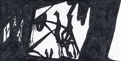 2015.12.28 In the Jungle (Julia L. Kay) Tags: botanical botany plant foliage splitleaf philodendron pertusum jungle tropical split leaf splitleafphilodendron leaves splitleafphilodendronleaves tropicalplant jungleplant monstera deliciosa aroid breadfruitplant swisscheeseplant araceae arum ceriman fruitsaladplant monsterfruit monsteriodelicio monstereo mexicanbreadfruit locust wildhoney windowleaf deliciousmonster epiphyte zampadileone adamsribs window shadow shadows silhouette juliakay julialkay julia kay artist artista artiste künstler art kunst peinture dessin arte woman female sanfrancisco san francisco daily everyday 365 ink brushpen paper black white blackandwhite monochrome