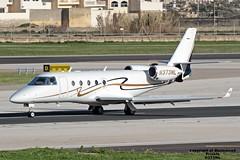 N373ML LMML 18-01-2017 (Burmarrad) Tags: airline private aircraft gulfstream g150 registration n373ml cn 204 lmml 18012017
