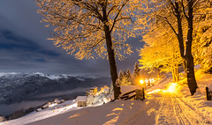 Notte magica (Luciano Fochi) Tags: alpedimera neve notte valsesia night landscape snow winter alps mountain