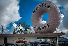 Randy's Donut (pandabearphotography) Tags: street photography city downtown los angeles people person west coast california cali nikon photo candid landscape landmark donuts food eat san diego oceanside ocean sea sky sunset sun sunrise skyline shadow carlsbad compton inglewood lax hollywood