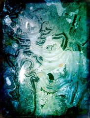 Anto - Giving (Lauri S Laurén) Tags: art outsiderartist photoart afterprocessing afterprocessed winter stream ice shape form green blue black grey contemporaryart contemporary laurilaurén water