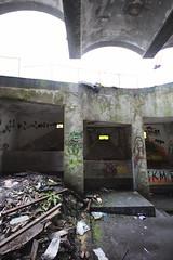 IMG_1611 (trevor.patt) Tags: abandoned architecture concrete graffiti scotland ruins trespass brutalist cardross gillespiekiddcoia