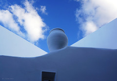 Amphora - Panarea (panoround hutter) Tags: italy cultura italien sky blue color architecture hutterdesign hutter panoroundhutter