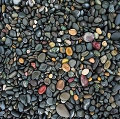 Rialto (Aaron Bieleck) Tags: 6x6 film beach analog square rocks stones 120film pacificnorthwest wa olympicnationalpark pnw rialtobeach hasselblad500cm filmisnotdead kodakportra160