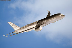Paris Air show 2015 Airbus A350 (Validation flight) (AlainG) Tags: airshow parisairshow airbusa350 a350 meetingaerien a350xwb pas15 saloninternationaldubourget validationflight