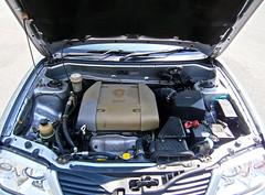 2004 Proton Waja 1.6 AT (ENH) in Ipoh, MY (37, Engine) (Aero7MY) Tags: 2004 car sedan malaysia 16 saloon ipoh enhanced proton enh waja 16l 4door impian at 4g18