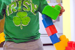 Blocks 2 (Kasey Specian) Tags: baby colors fun blocks playtime babyboy childrenstoys