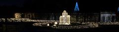 CW312 Longwood Gardens Christmas Lights (listentoreason) Tags: usa night america canon unitedstates pennsylvania scenic favorites places longwoodgardens ef28135mmf3556isusm holidaylighting score30