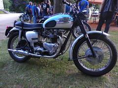 Triumph T120 Bonneville 1961 650cc OHV (Michel 67) Tags: classic vintage motorbike antigua antiguas moto motorcycle ancienne motocicleta motorrad vecchia motocicletta motocyclette clasica vecchie clasicas motociclette motociclete classik motocyklar motocicletti