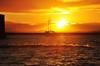 comes to me... sun! (Ruby Ferreira ®) Tags: sunset bay boat waves silhouettes hills ripples silhuetas salvadorba notreatment northeastbrazil baíadetodosossantos nordestebrasileiro bahiaba