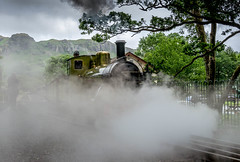 A Ghostly figure on the track (alanwilson99) Tags: infocus highquality