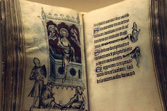 The Hours of Jeanne d'Evreux, Queen of France (ellievking1) Tags: nyc usa ny newyork paris france hours manuscript 14thcentury metropolitanmuseumofart forttryonpark thecloisters queenoffrance jeannedevreaux