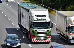 Eddie Stobart 'Rosemary Sarah' (stavioni) Tags: sarah truck reading buick motorway william lorry jockey rosemary eddie trailer m4 scania esl biomass stobart r450 h8421 px15jhu