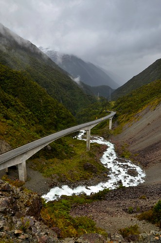 Arthurs Pass Viaduct, South Island, New Zealand.