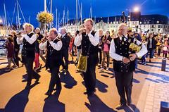 Paimpol evening Bastille Day 14th July (Matchman Devon) Tags: classic day pipes pipe band regatta bastille channel breton paimpol