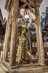 HDR Mermaid Fountain (Epbot) Tags: harrypotter universal hogsmeade diagonalley wizardingworld