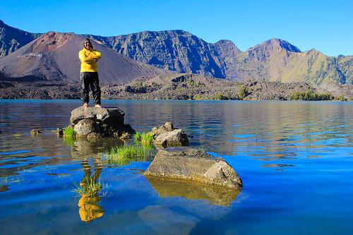 Lake Segara Anak, Rinjani, Lombok