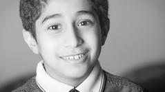 Just Smile (Ali Bin Abdullah) Tags: portrait white black smile photography nikon saudi arabia tamron ksa 70200mm d600
