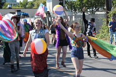 Play Ball (Chicago John) Tags: seattle fair fremont parade solstice 2015 fremontfair
