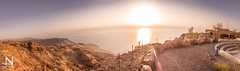 Dead sea panorama at sunset (nour.tanta) Tags: sunset sea panorama canon visit jordan deadsea discover traval cameraraw